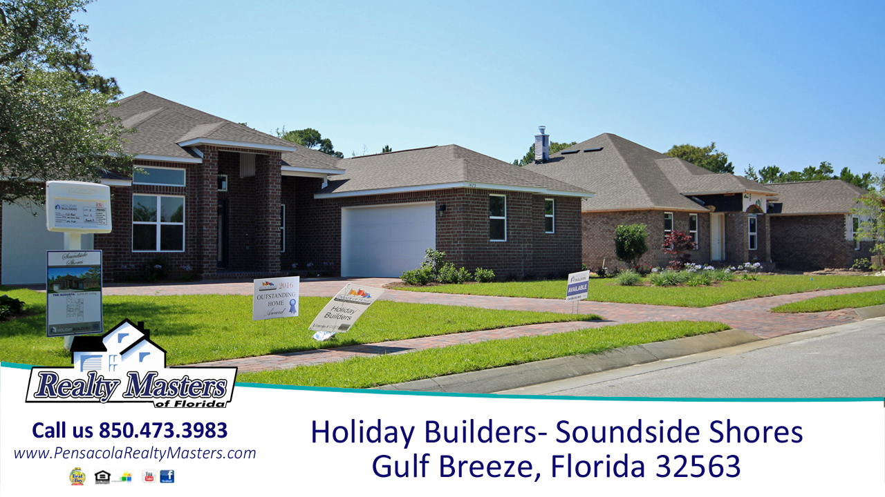 Holiday Builders- Soundside Shores in Gulf Breeze, Florida