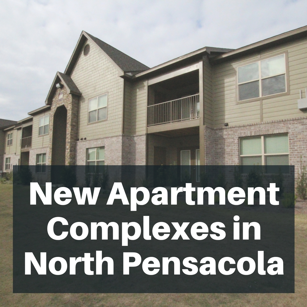 New construction apartment complexes come to North Pensacola