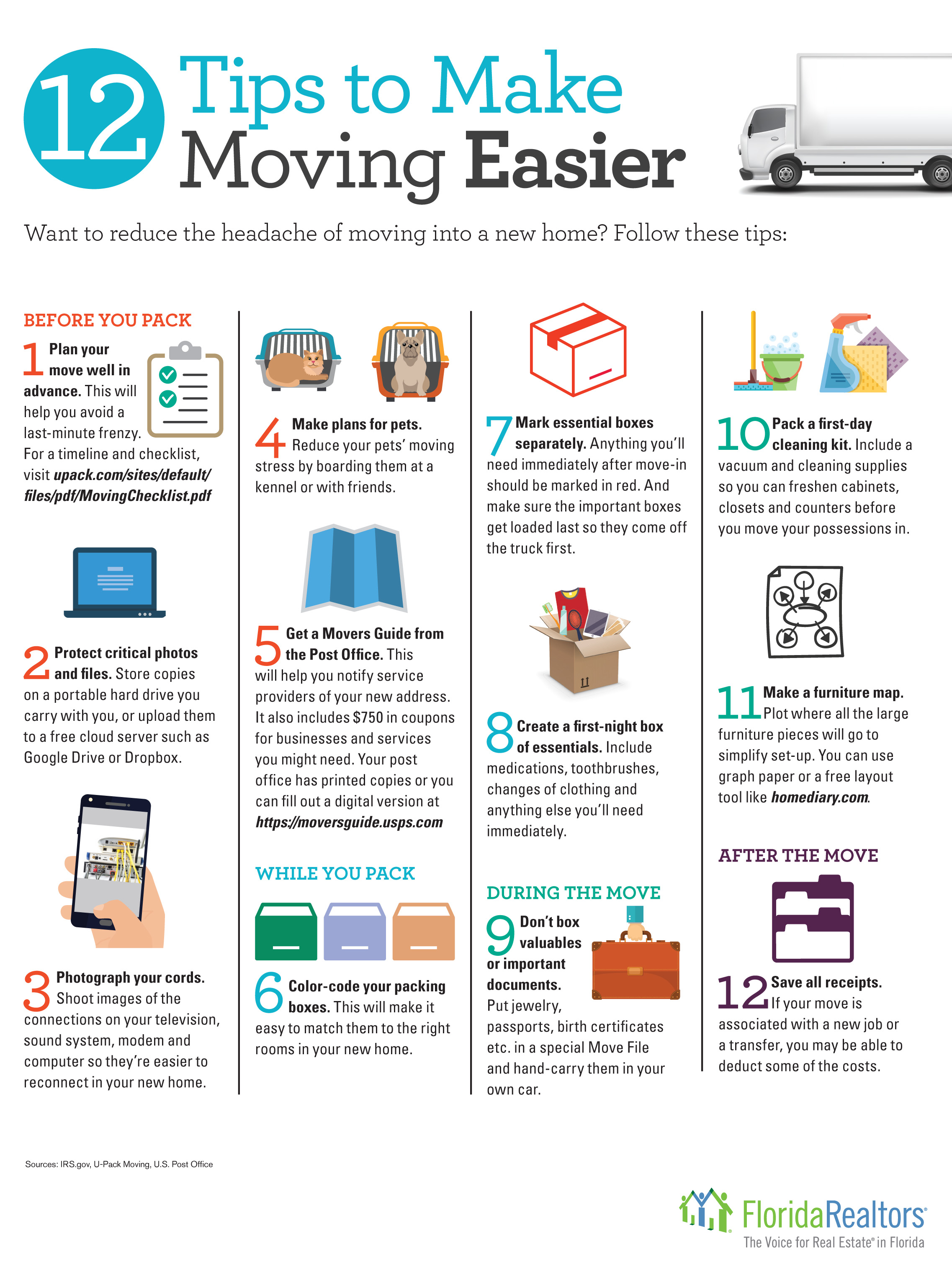 Moving Tips to make moving easier
